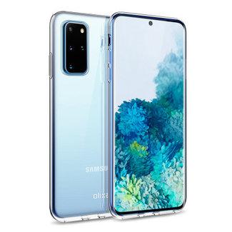Samsung Galaxy A31 hoesje   transparant