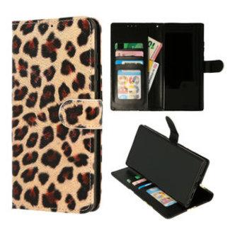 Samsung Galaxy A12 bookcase | luipaard print