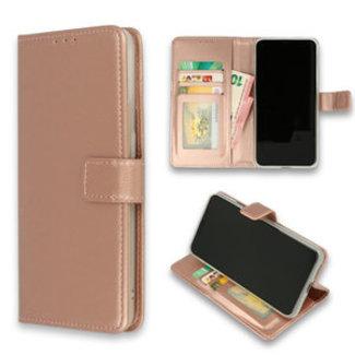 Samsung Galaxy A10 bookcase   rosegoud
