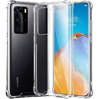 Huawei P40 hoesje | transparant | bumper case