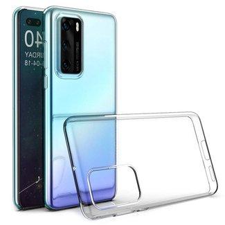 Huawei Y6P 2018 hoesje | transparant
