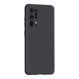 Huawei Y6P 2018 hoesje | zwart silicone