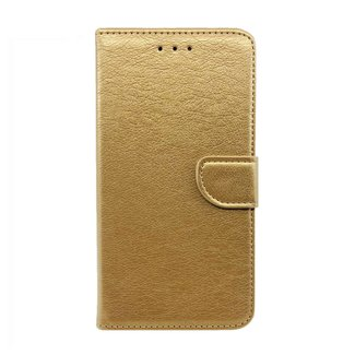 Huawei P10 bookcase   goud