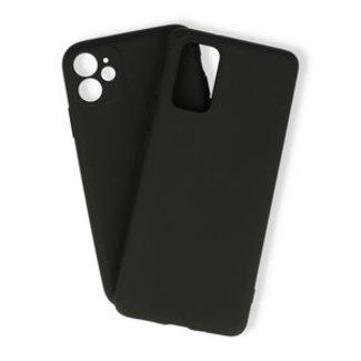 Samsung Galaxy A01 hoesje   zwart silicone