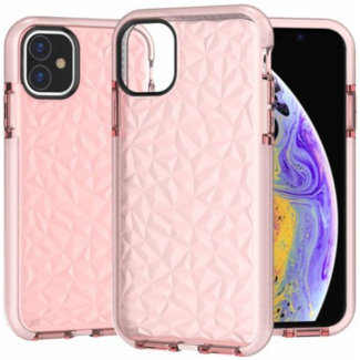 Apple iPhone 12 Pro Max Crystal Case Roze