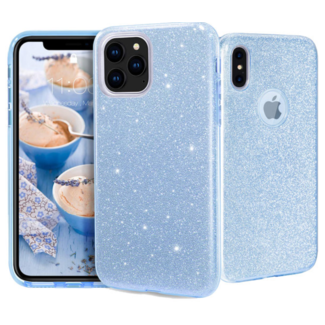 Apple iPhone Xs max Silicone backcover glitter