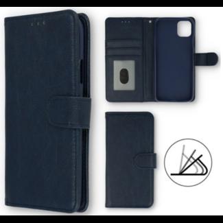 Apple iPhone X Bookcase Donker Blauw