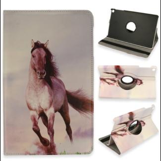 Apple iPad 10.2 2019/2020 | 360 draaibaar case | Paard grijs