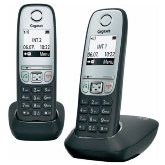 Gigaset Gigaset DECT telefoon GIGNL-A415-BLK 2 stuks