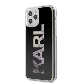 Karl Lagerfield iPhone 12 hoesje | karl lagerfield glitter