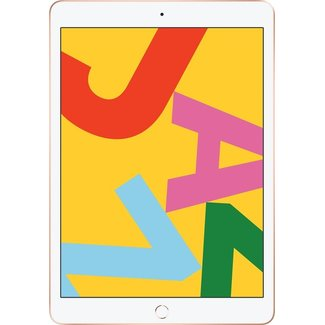 Apple iPad 2019 32GB Gold Wifi only No Touch ID