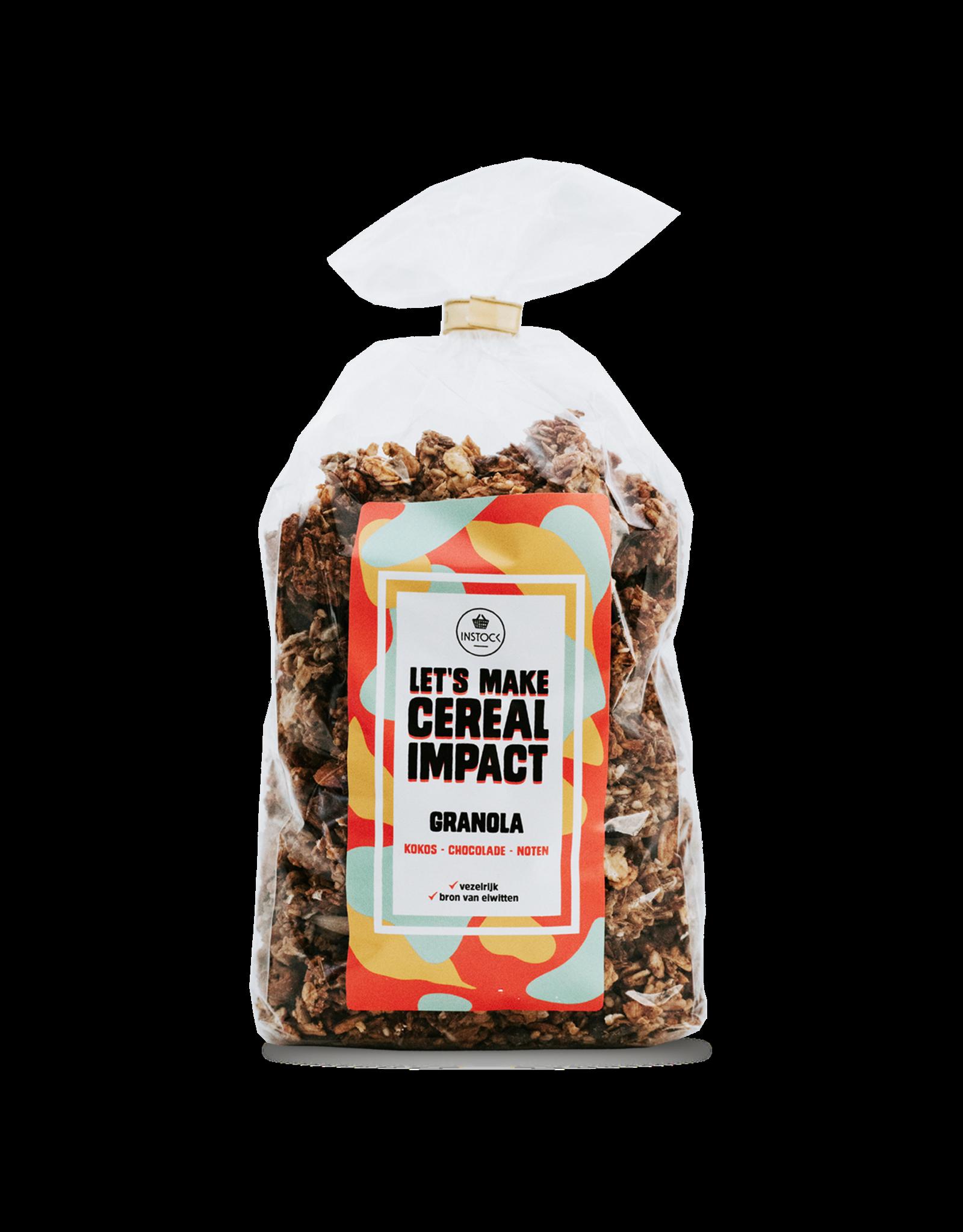 Instock Instock Granola - Kokos, chocolade & noten