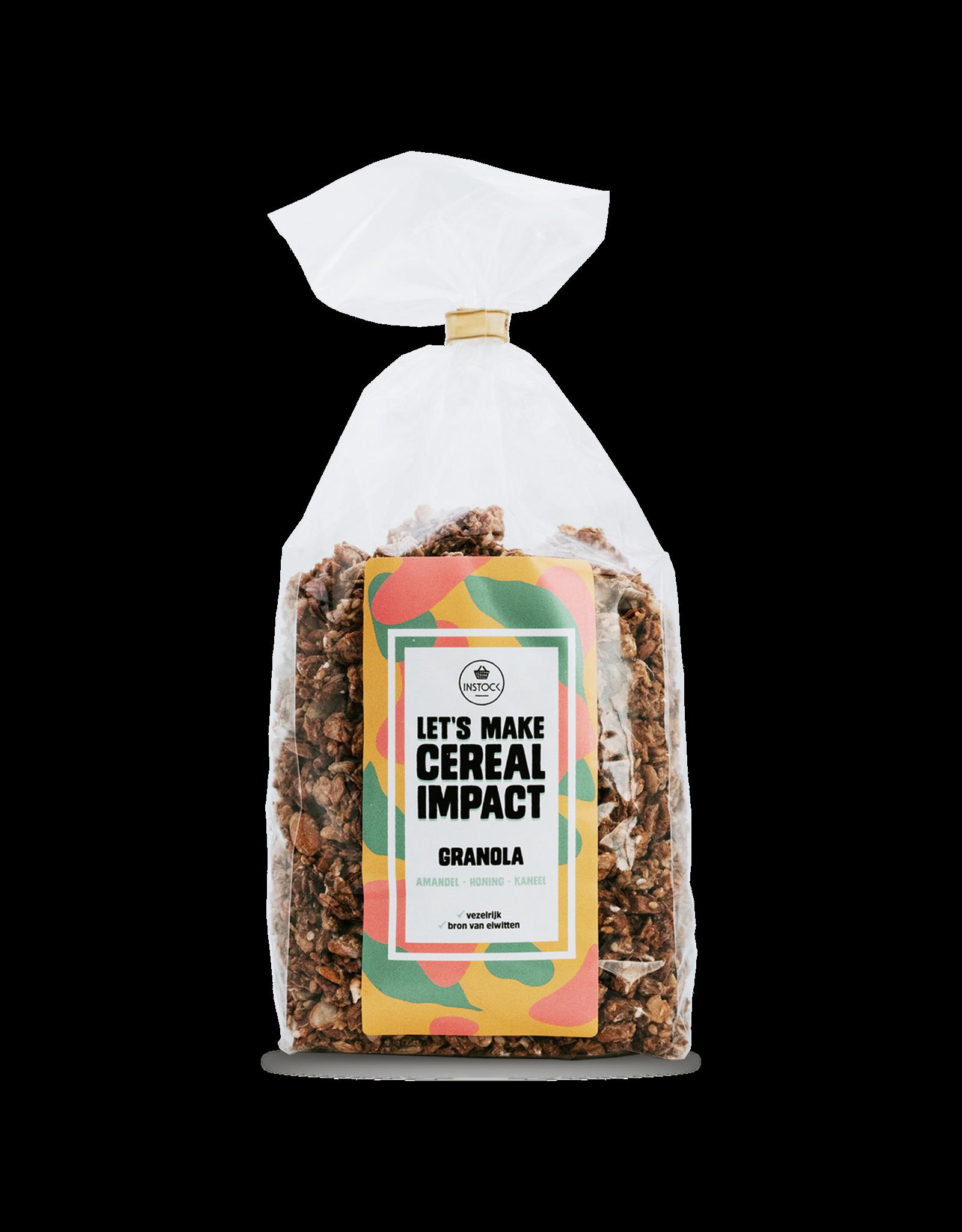 Instock Instock Granola - Amandel, honing & kaneel