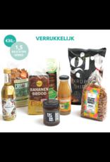 Verspilling is Verrukkelijk Verrukkelijk pakket met unieke producten van geredde ingrediënten