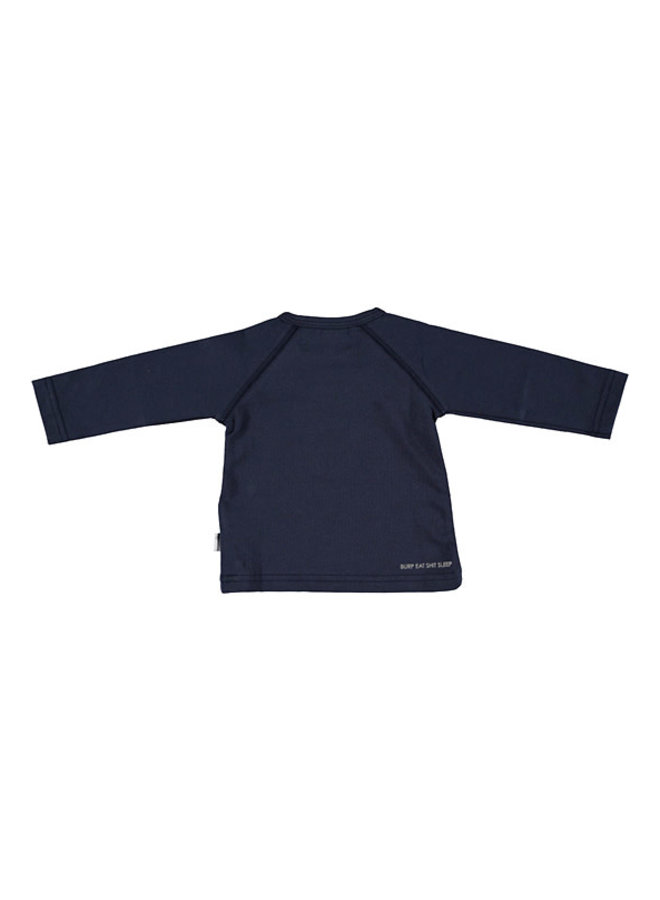 Shirt Nice To Meet You - Blauw