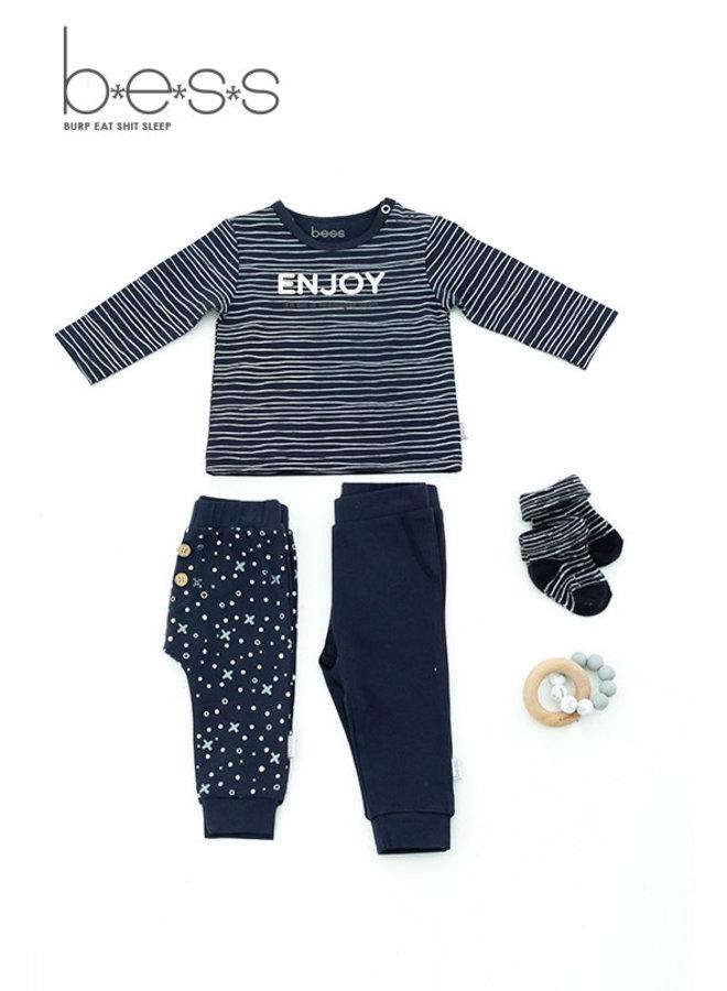 Shirt Enjoy - Blauw