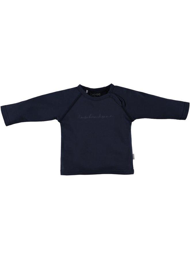 BESS-Shirt I'm So Handsome - Blauw