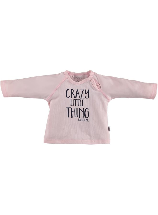 BESS-Shirt Crazy Little Thing - Roze