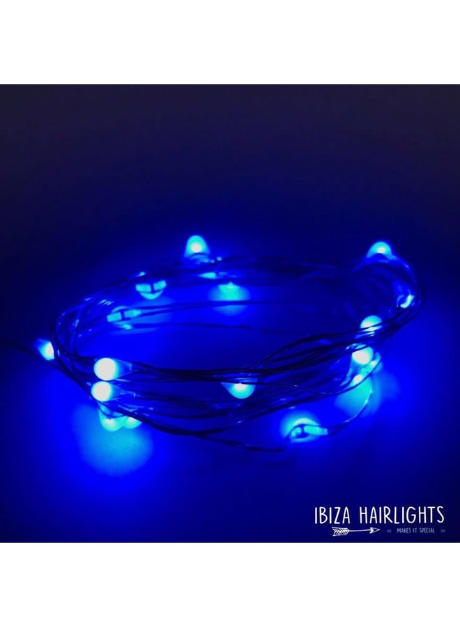 Ibiza Hairlights Blue