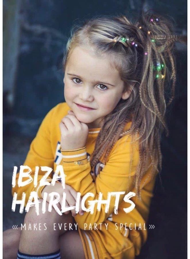 Ibiza Hairlights Multi Color