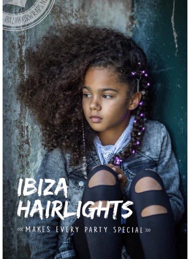 Ibiza Hairlights Pink
