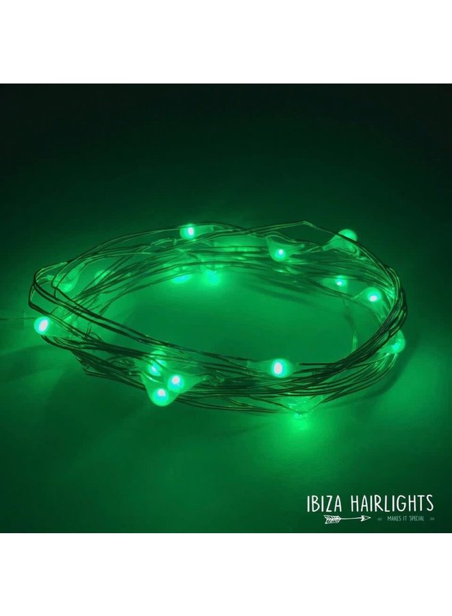 Ibiza Hairlights Green
