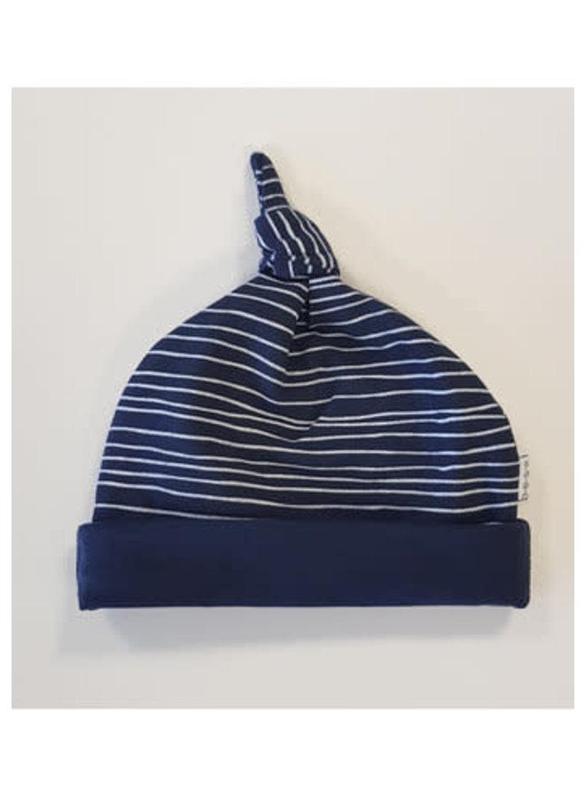 Muts Pinstripe - Blauw