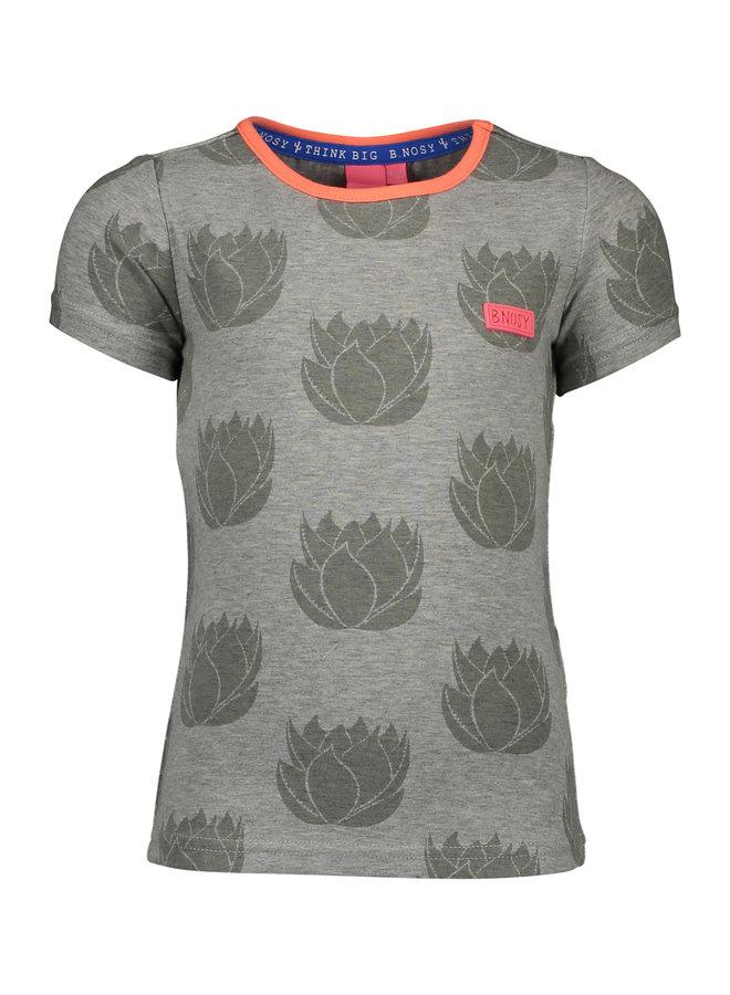 Shirt Big Cactus Flower