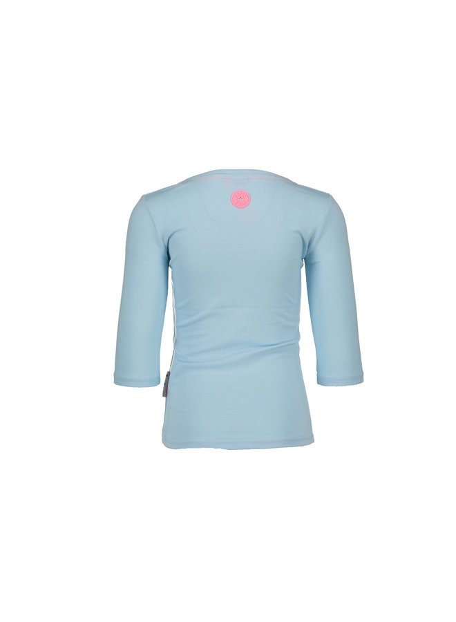 Shirt Roller Skate Azure