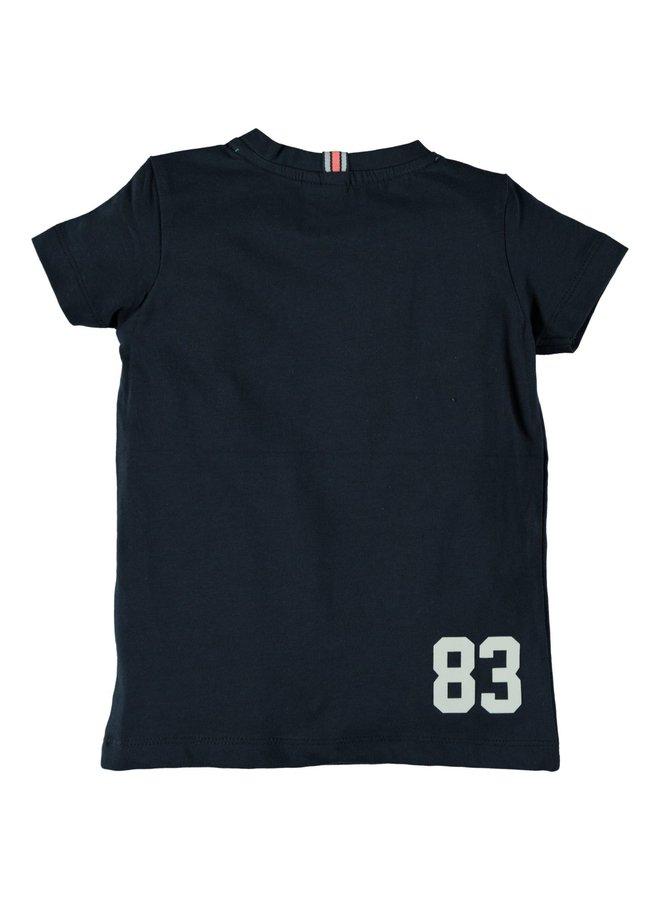 Shirt Checkprint Blueberry