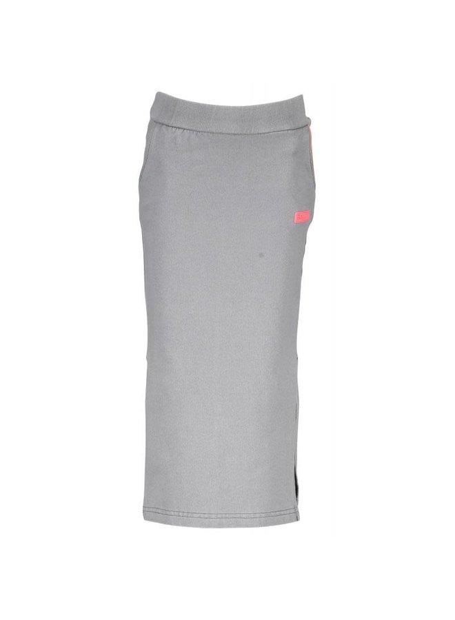 Maxiskirt Grey Denim