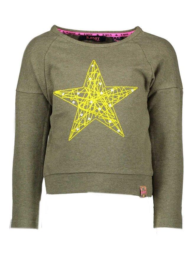 Sweater Star Crocodile