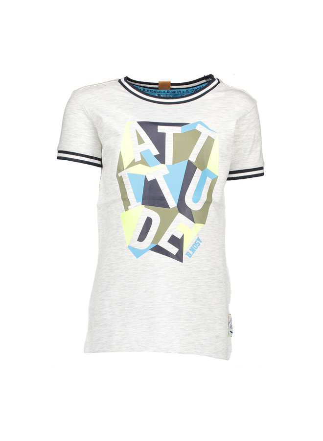 Shirt Attitude - Ecru Melee