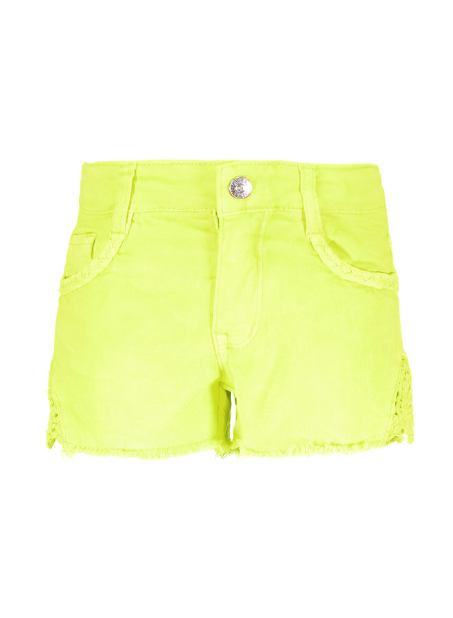 Short Electric Yellow