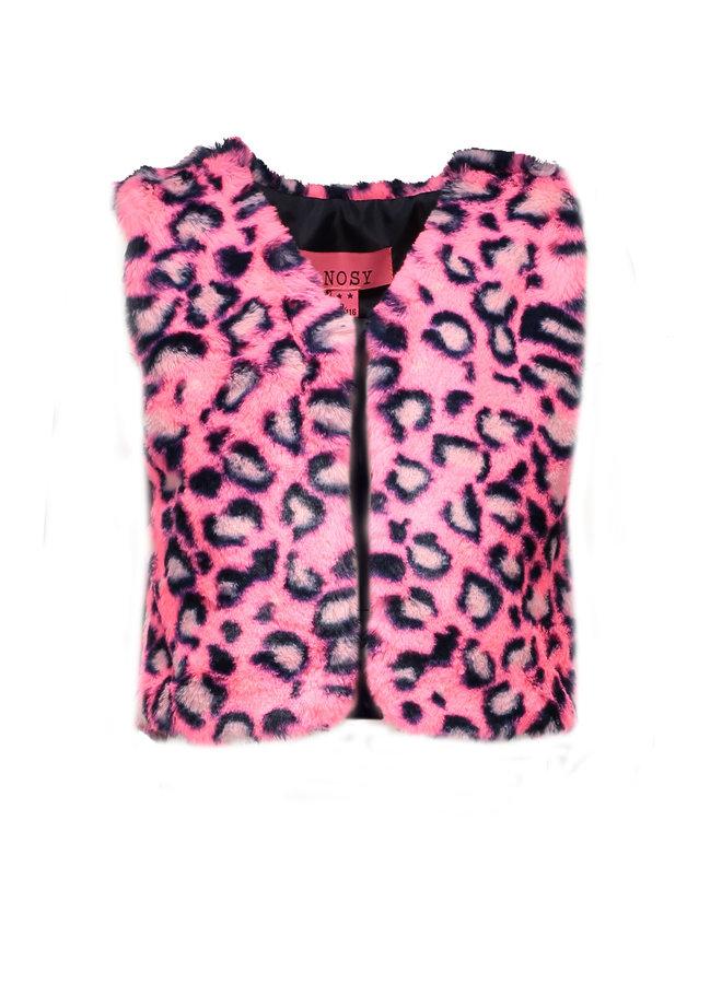 Fur Gilet - Pink