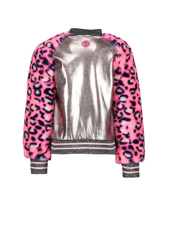 Bomber Jacket - Pink/Champagne