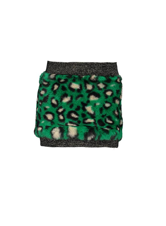 Fur Skirt - Green