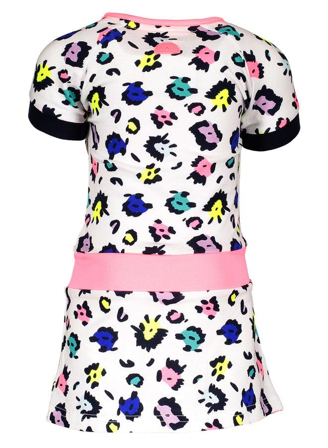 Dress Contrast Sleeve - Sprinkle