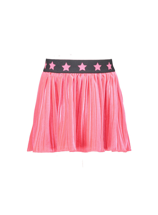 Velvet Skirt - Shocking Pink