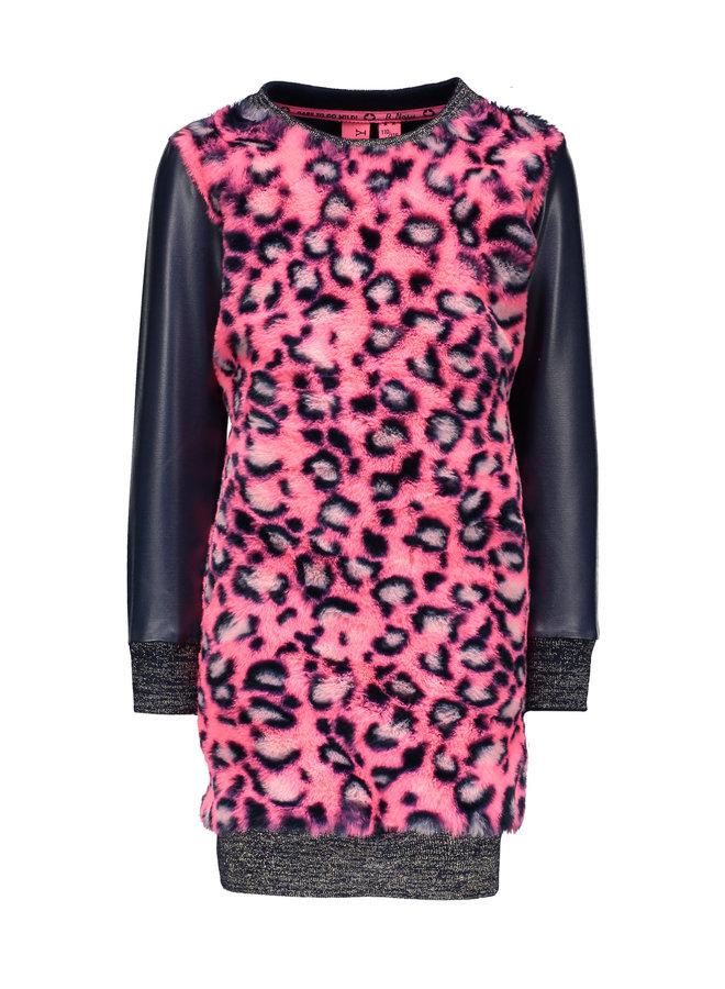 Fur Dress - Pink