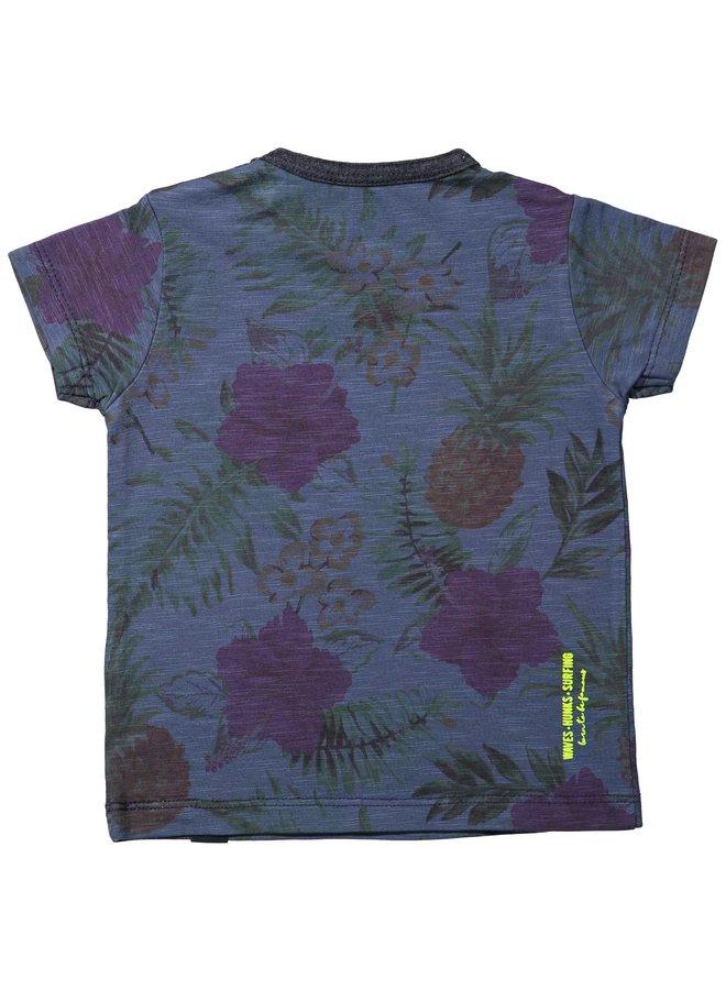 Shirt Navy Hawaï