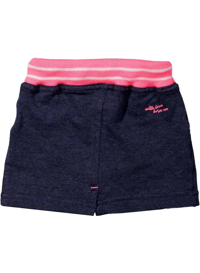 Skirt Navy Melange