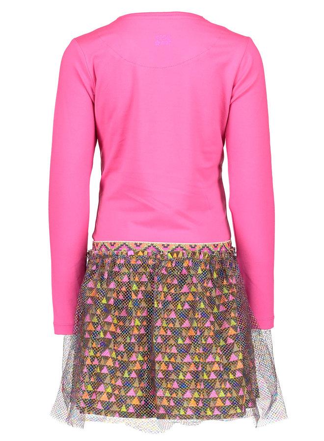 Dress Neon Pink
