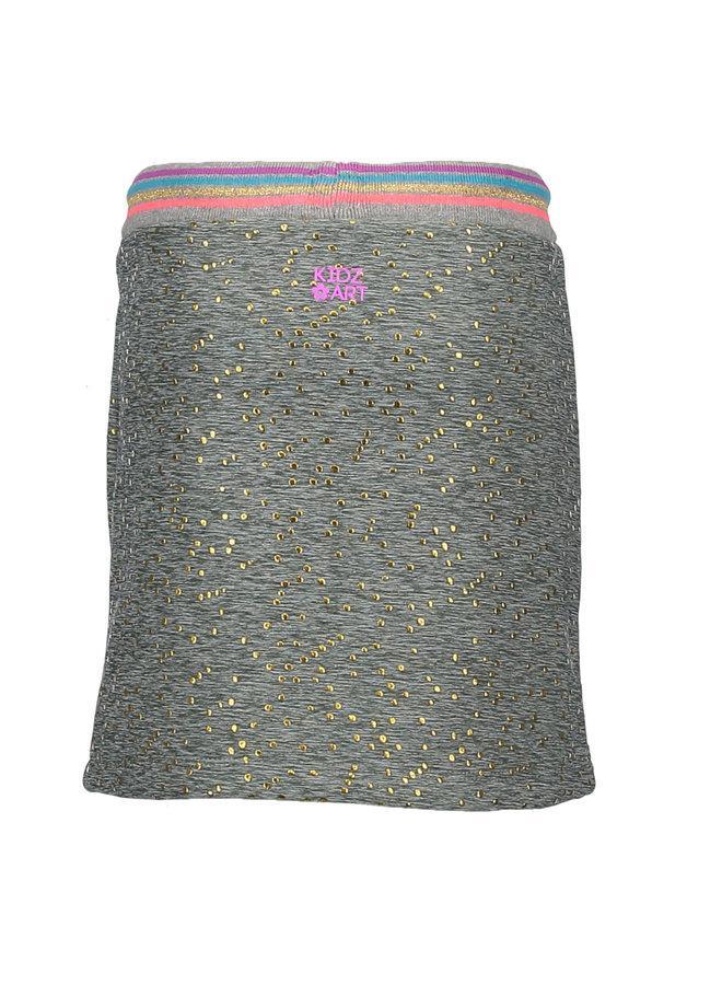 Skirt Gold Dots