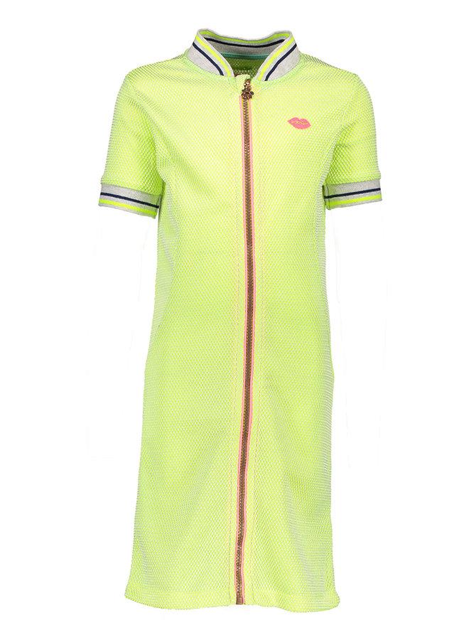 Dress Neon Yellow