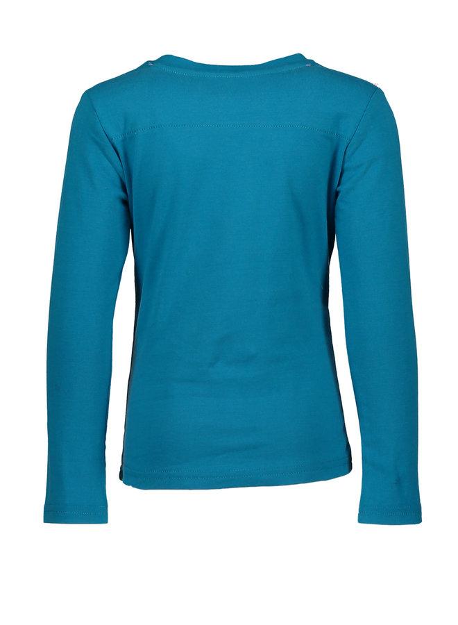 Shirt Dancing Woman - Sea Blue