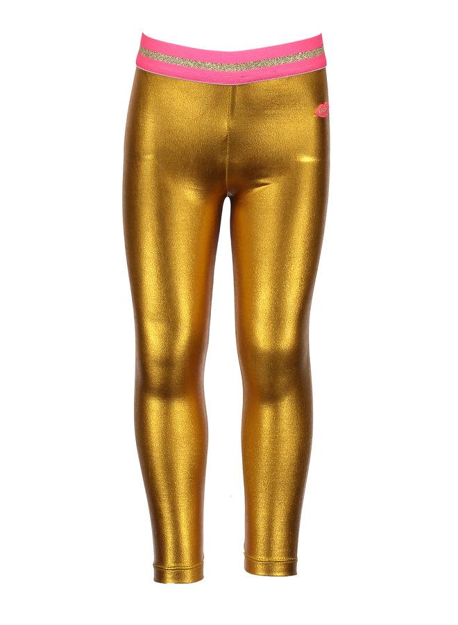 Coated Legging Gold