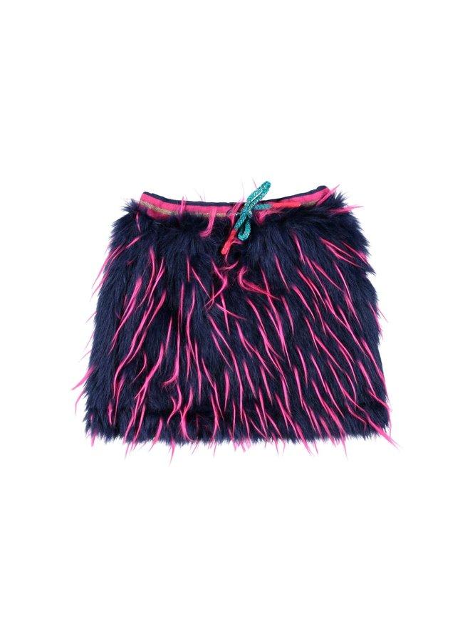 Fake Fur Skirt
