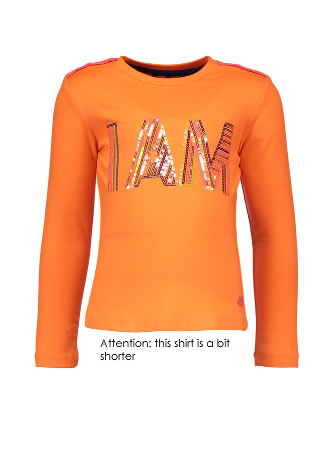 Shirt I'AM - Neon Orange
