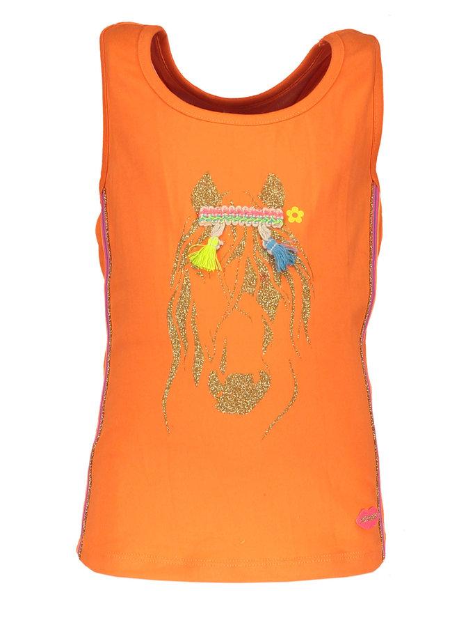 Top Horse - Neon Orange